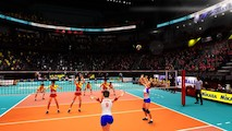 Spike Volleyball - Coup de foudre au match de volleyball ?