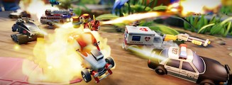 Micro Machines World Series - La sortie de route